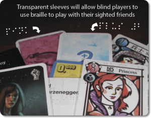Board Games: Now for the Blind