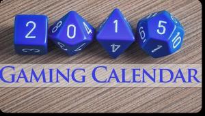 Scott King Gaming Calendar