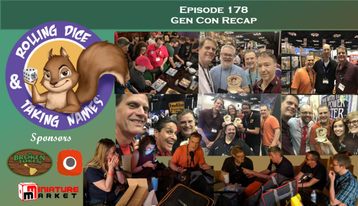 RDTN Episode 178: Gen Con Live! – With lots of special guests including Stefan Feld!