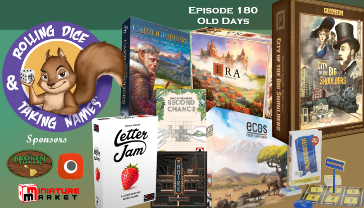 RDTN Episode 180: City of the Big Shoulders, Era, Ecos, Blockbuster, Letter Jam, and more