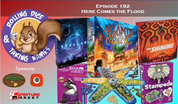 RDTN Episode 192: Atlantis Rising, Stellar, The Shining, Brainwaves, Stampede