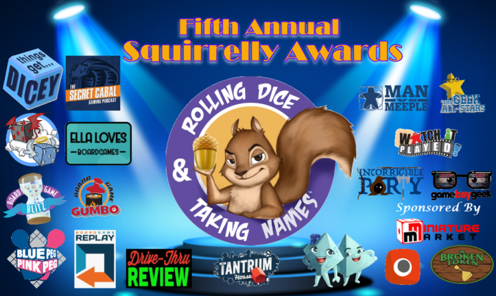 RDTN Episode 193: 5th Annual Squirrelly Awards
